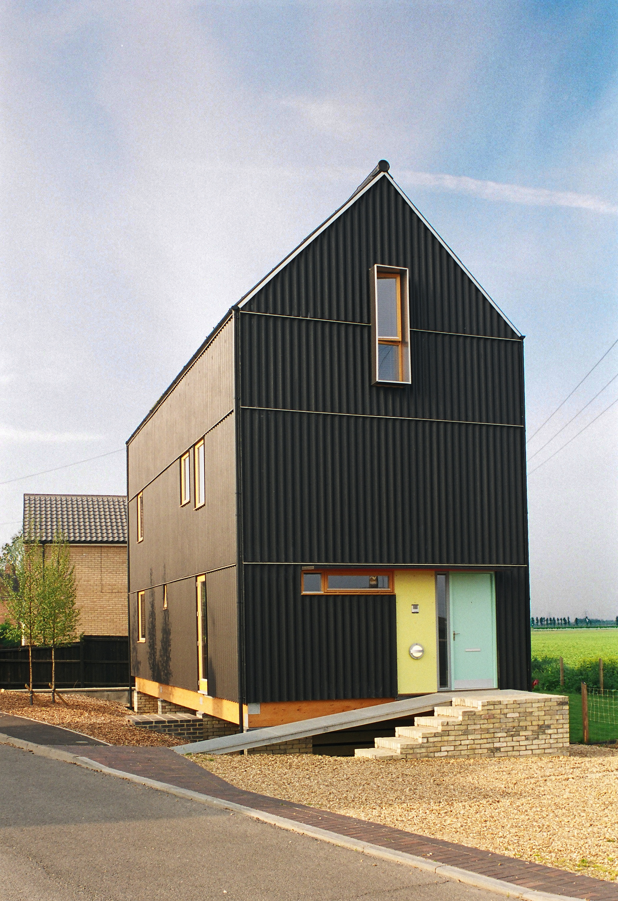 Mole Architects The Black House Mole Architects