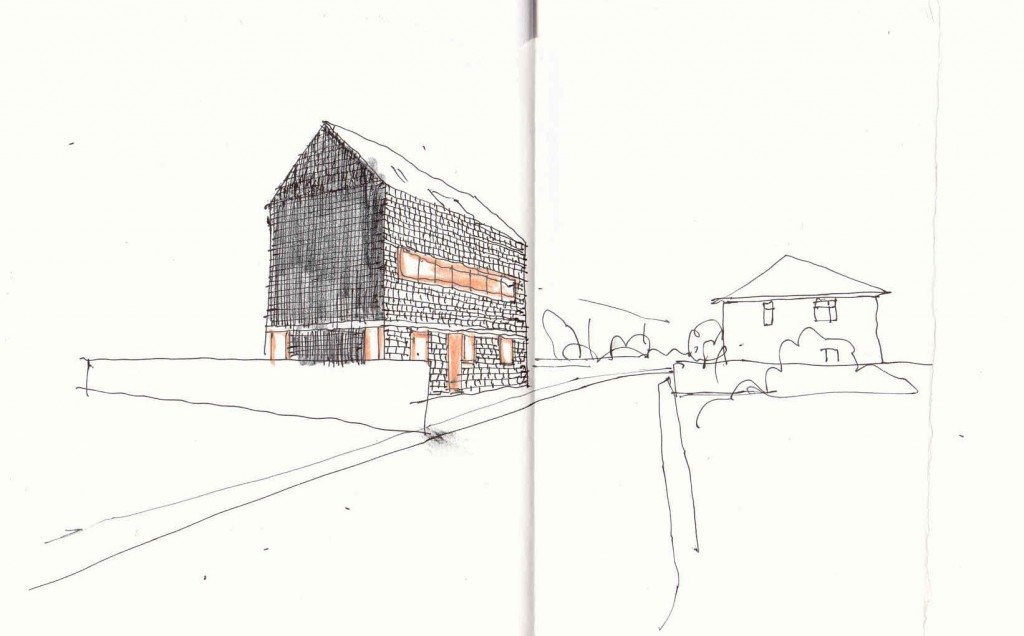 The Black House Sketch