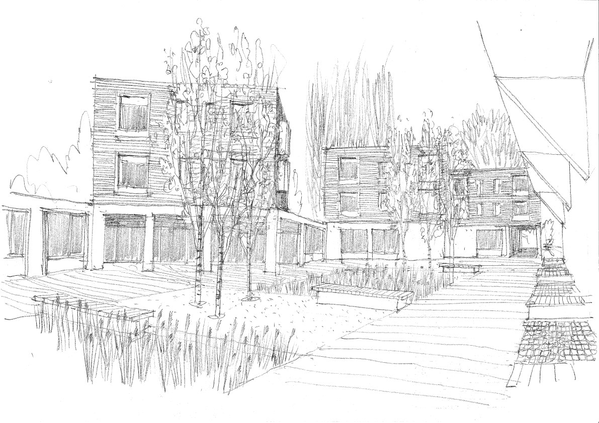 ChurchillCollegeSketch3