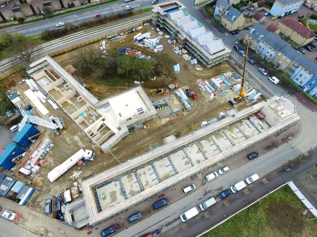 Site Progress at Marmalade Lane img